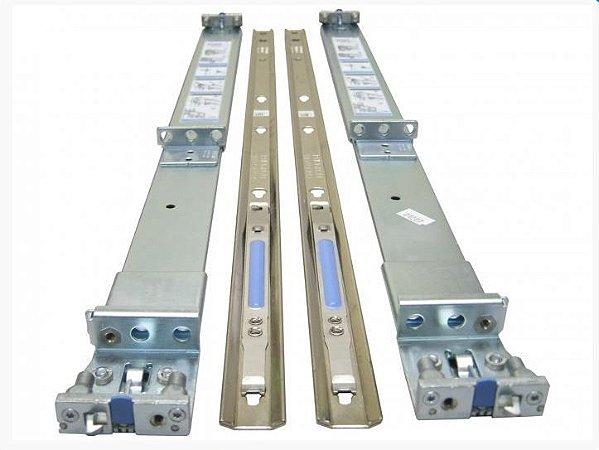 Par Trilhos para Servidor Dell Poweredge 1U - R210 R220 R310 R320 R410 R420