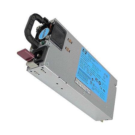 Fonte HSTNS-PL14 para Servidor - ProLiant DL360 - DL380 - DL385 / G7 - Produto Novo com Garantia