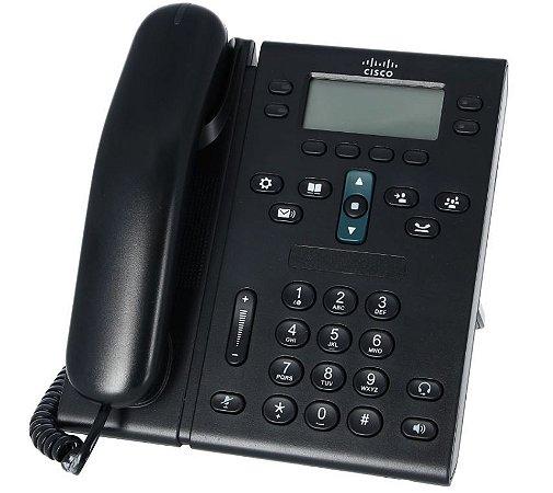 Telefone IP Cisco CP - 6941 - Poe - Seminovo com Garantia 6 meses