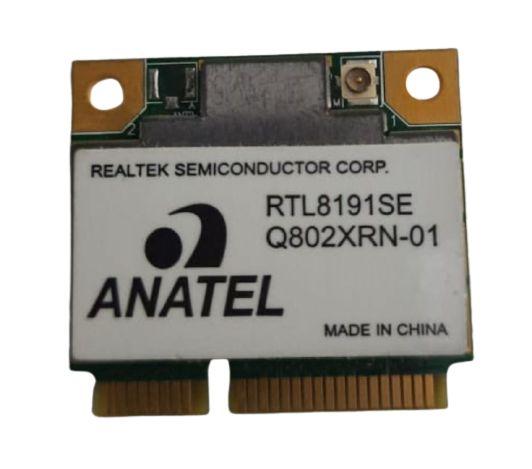 Placa Wireless Mini Pci´e Realtek RTL8191SE - Produto Novo com Garantia