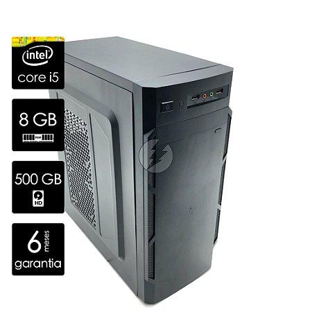 Computador Core i5-650 8GB 500GB HD + WiFi - PC NOVO