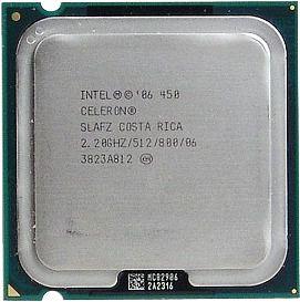 Processador Cpu Intel Lga 775 Celeron 450 2,20ghz/512m/800