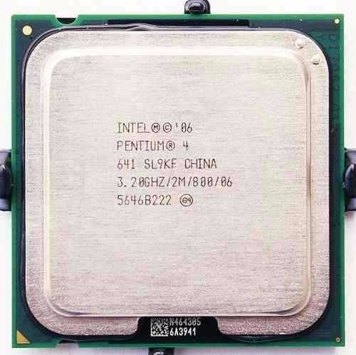 Processador Cpu Intel Pentium 4 3.2 Ghz 2m Fsb800 Lga 775