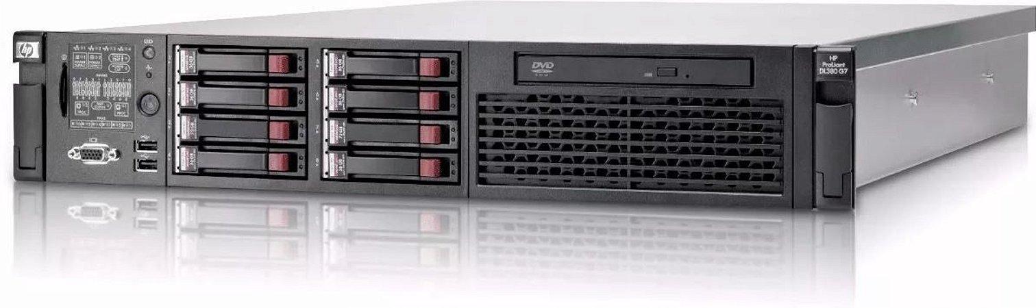 Servidor Hp Proliant Dl380 G7 2 Xeon Six Core 32 Gb 600 Gb