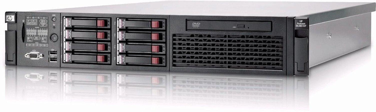 Servidor Hp Proliant Dl380 G7 2 Xeon Quad Core 32 Gb 600 Gb