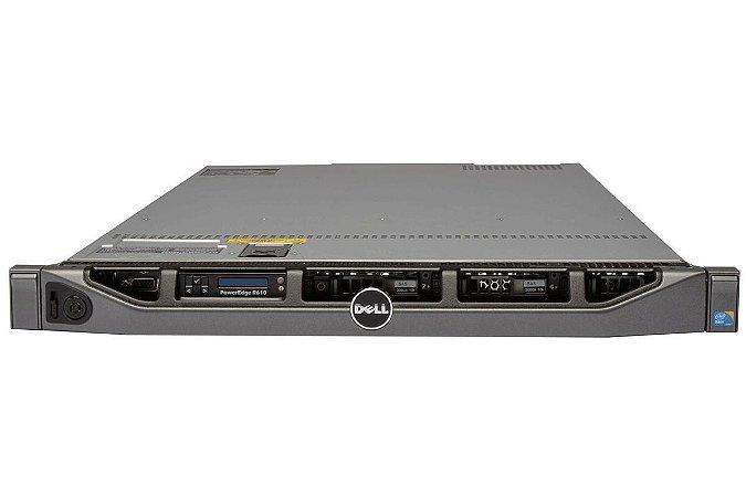 Servidor Dell Poweredge R610 2 Xeon Quad Core 16 Giga 600 Gb