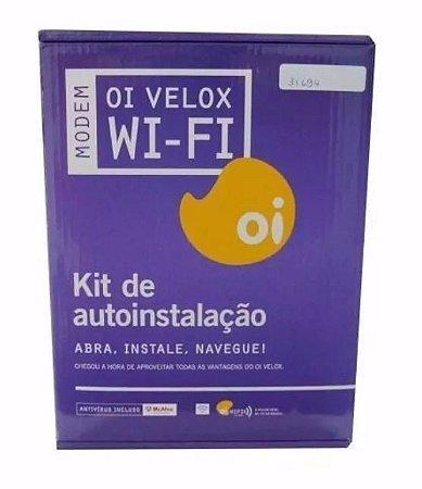 Kit Modem Oi Velox    Adsl2+ Wireless Amg1202-t10b 150mbps