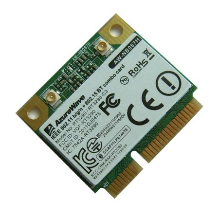 Placa Wifi Azurewave Awnb087h-le Wifi N150 Bluetooth Pcie