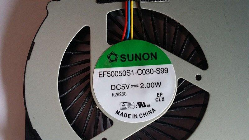 Cooler Positivo Ultrabook X8000 / Ef50050s1-c030-s99 Series