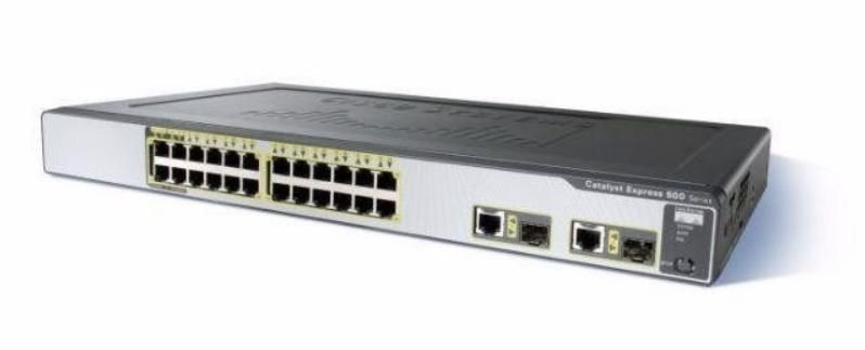 Switch Cisco Catalyst Express 500 24 Port Poe 2x Gigabit Sfp