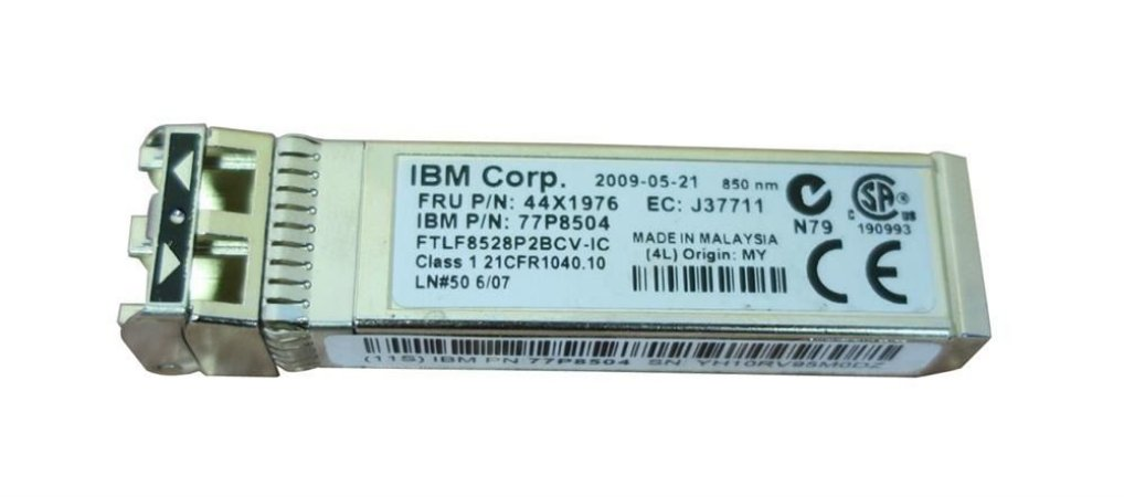 Gbic Ibm 77p8504 || 44x1976 8gb Sfp Sw Optical Transceiver