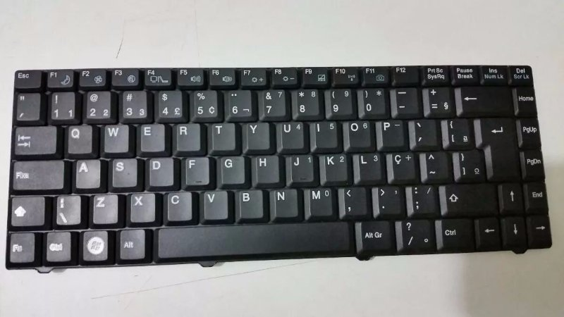 Teclado Notebook Cce Win W55 T52c Rlp225m Mp-05696pa-3606
