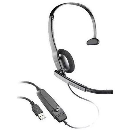 Lote 5 unid - Headset Usb 615 Áudio Plantronics