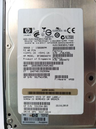 Hd 2,5 Sas DELL ST9300603ss 300gb 10k 3gb/s
