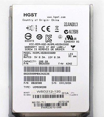 Hd Sas Hitachi 200gb 15k 6 Gbs / Husml4020ass600