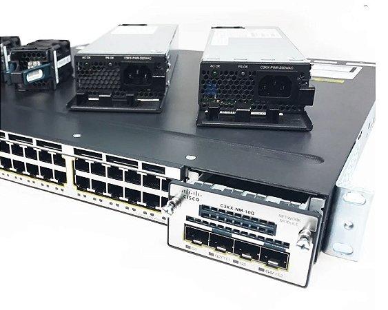 Cisco WS-C3560X-48P-L  48x port Gigabit PoE+, 4x SFP GE