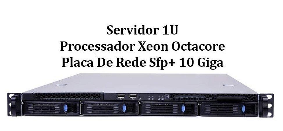 Servidor Rack 1u 02 Xeon E5 2650 Octacore 64 Gb 2 Ssd 480 Gb