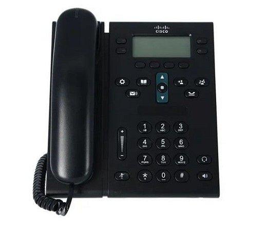 Telefone Ip Cisco Cp-6941 Poe / Seminovo