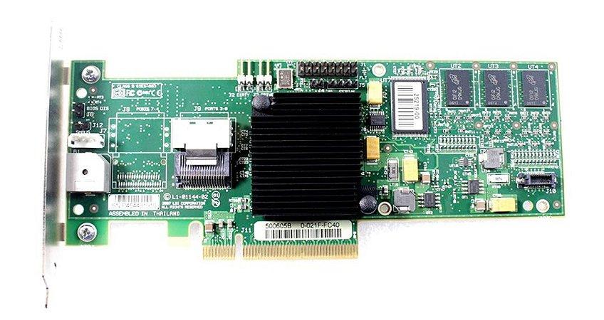 Controladora LSI MEGARAID 8704EM2 4 Port SAS 3Gbs 128MB PC´E