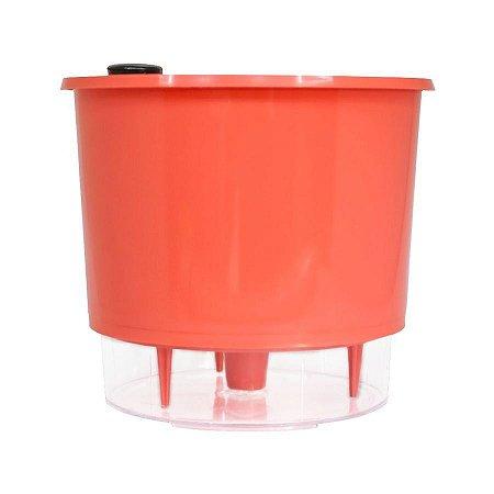 Vaso Autoirrigável MÉDIO N03 16 cm x 14 cm Coral Linha Wishes
