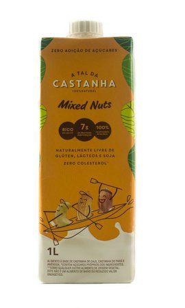 Leite Vegetal de Castanha Mixed Nuts 1L