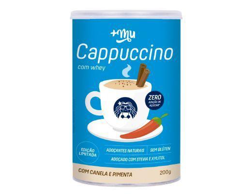Cappuccino com Whey Canela Pimena Mais Um - 200g