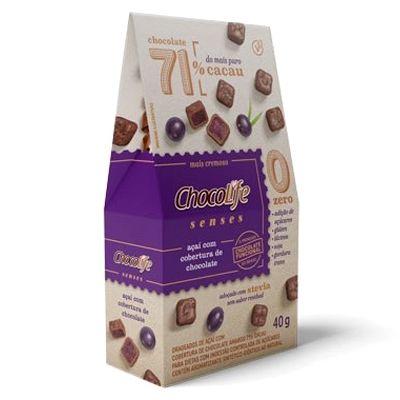 Drageado Açai com Cobertura Chocolife 71% - 40g
