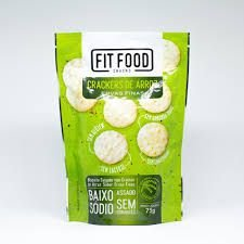 Cracker de Arroz Ervas Finas Fit Food - 75g