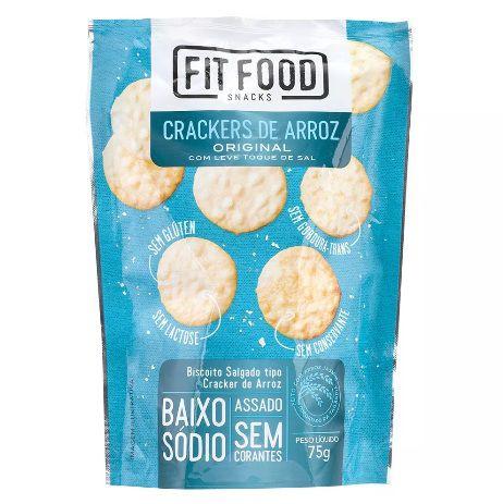 Cracker de Arroz Original Fit Food - 75g