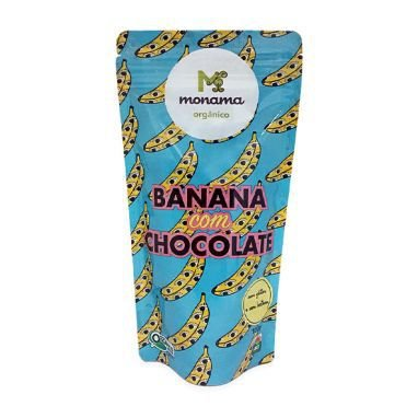 Banana com Chocolate Momana - 50g