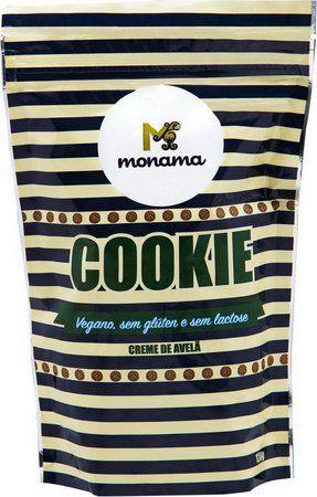Cookie Creme de Avelã Monama - 120g