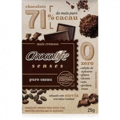 Chocolife Senses Puro Cacau 71% - 25g