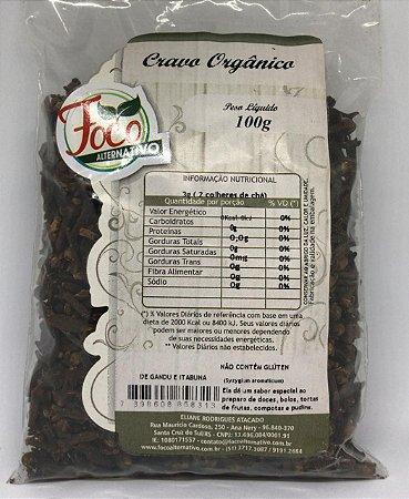 Cravo da India Organico Foco Alternativo - 100g