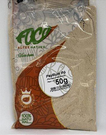 Psyllium Po Foco Alternativo - 50g