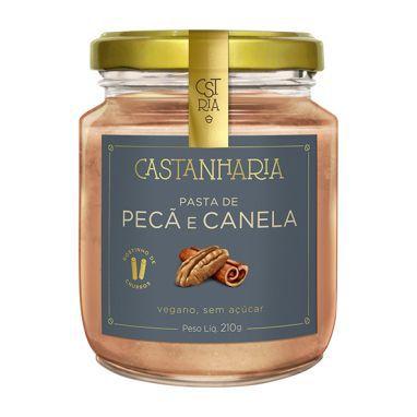 Pasta de Pecã e Canela Castanharia - 210g
