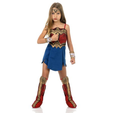 Fantasia Mulher Maravilha - Batman Vs Superman Infantil