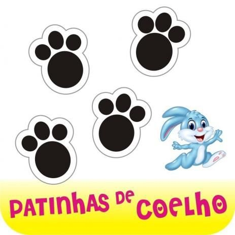 Adesivo Patinha de Coelho