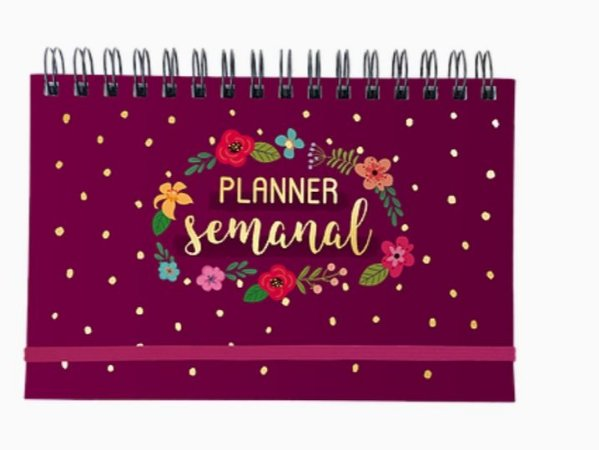 Planner Semanal Floral