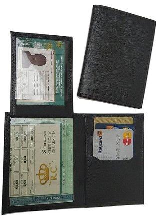 5bab06b7a5313 Carteira Couro Legítimo Masculina,Cnh,Porta Cartão,cédula Frete Grátis