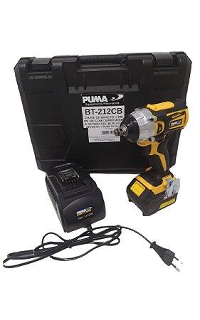 Chave de Impacto 1/2 250 NM 18V C/ Carregador E Bateria 18A-2P - PUMA