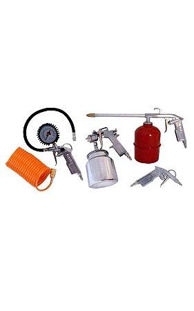 Kit de Acessorios 5 Pç P/ Motocompressor (MAM) - MOTOMIL