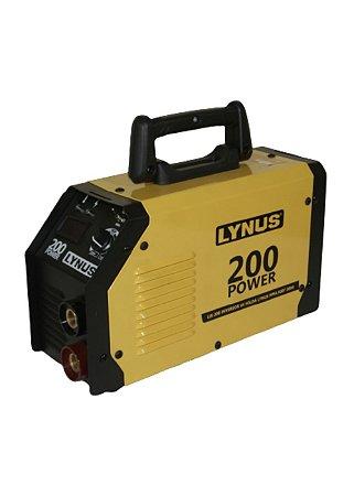 INVERSOR DE SOLDA MMA 200A BV (LIS-200) -  LYNUS