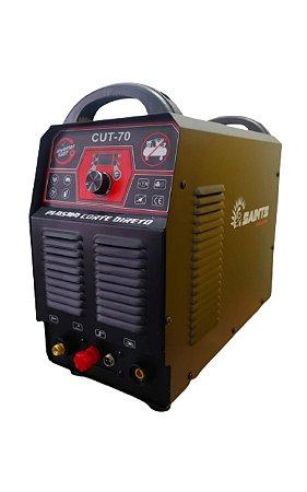 MAQUINA DE CORTE PLASMA CUT 70 220V - COMPRESSOR INTERNO - SAINTS