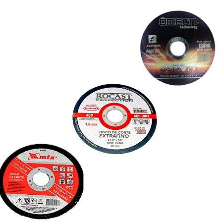 Disco de Corte Fino 115x1,0x22mm (Diversos)