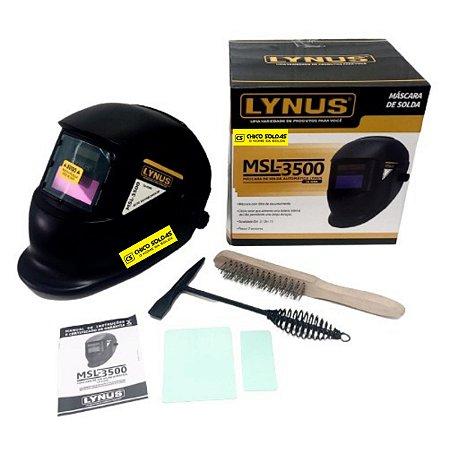 Máscara automática fixa Lynus + Kit limpeza