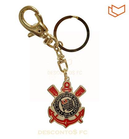 Chaveiro ouro Corinthians