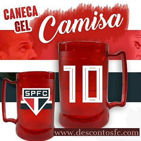 Caneca Gel SPFC edição especial Dani10