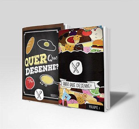 Combo de Livros - Quer que desenhe? - Volume 1 e Volum 2