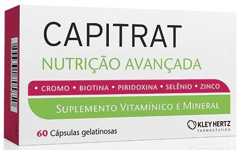 Capitrat Nutrição Avançada com 60 cápsulas gelatinosas Kley Hertz