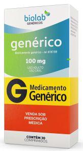 Ticlopidina 250mg com 30 comprimidos Biolab
